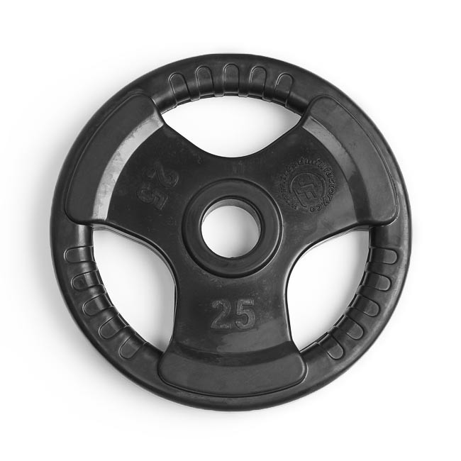 Element Virgin Rubber Olympic Grip Plate Homefit