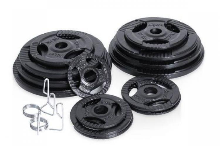 225lb of Xtreme Monkey Olympic Weights