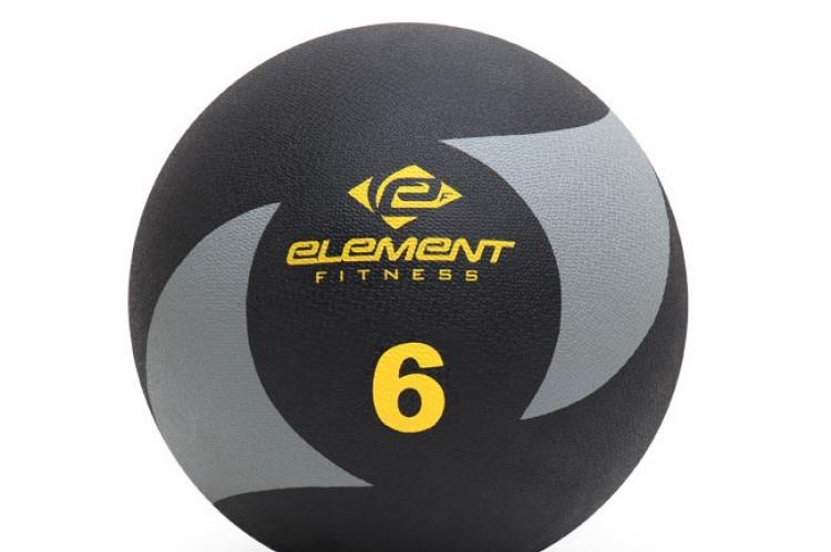 Element Fitness Commercial 6lbs Medicine Ball