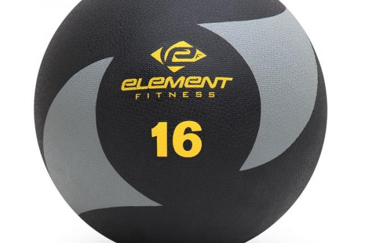 Element Fitness Commercial 16lbs Medicine Ball