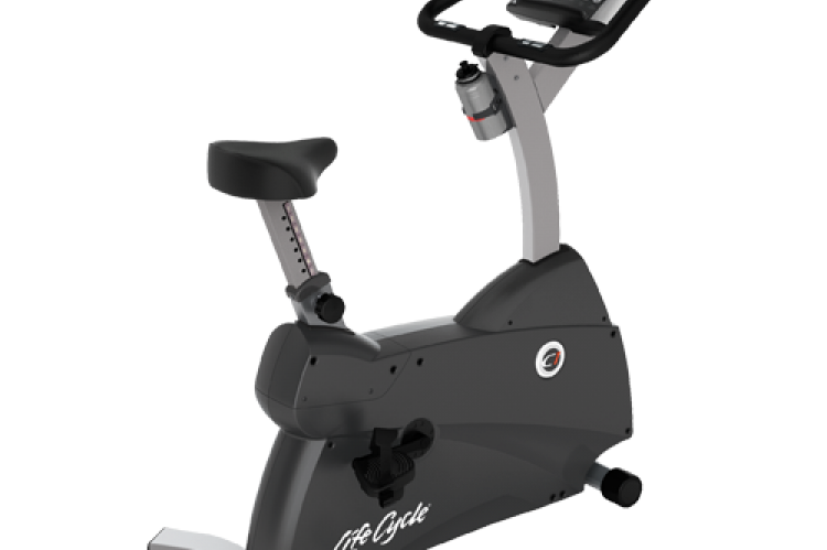 C1 LifeCycle Upright Exercise Bike With Go Console