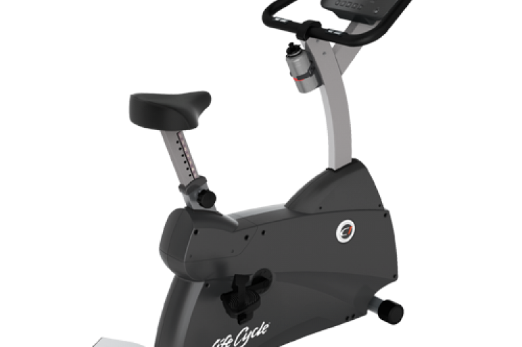 C1 LifeCycle Upright Exercise Bike (Track Console)