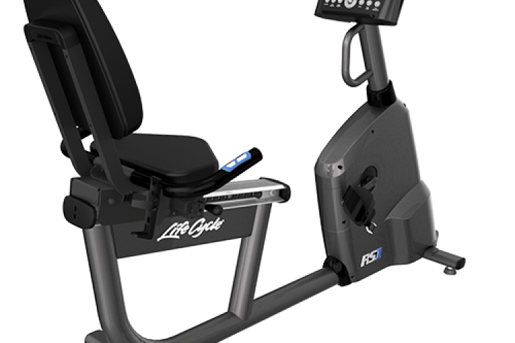 Life Fitness RS1 Recumbent Exercise Bike (Go Console)