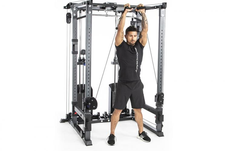 Bodycraft RFT with man lifting weights