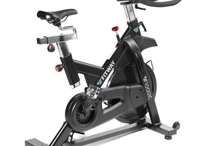 Fitway 100IC Indoor cycle side view