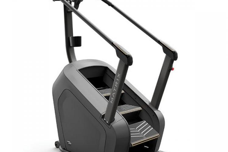 Matrix C50 ClimbMill with XR Console primary view fromt he back