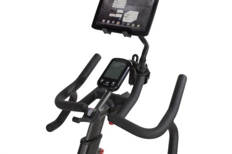 BodyCraft Fitness SPR Spin Bike with Console and Tablet Holder