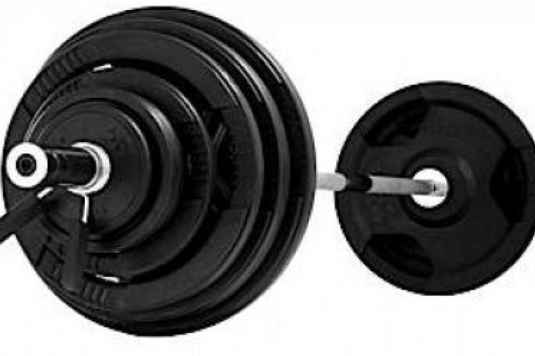 Virgin Rubber Plate with bar and grips