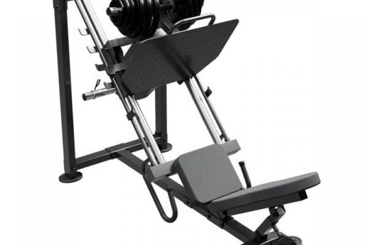 Ironax XLP Leg Press seat side view