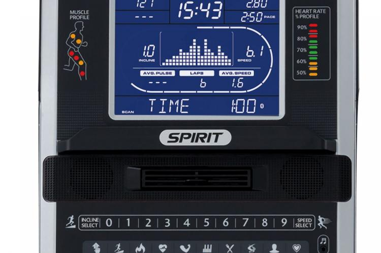 Spark XT685 Treadmill - Console Close Up