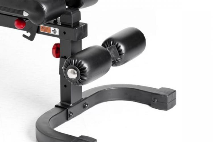 Xtreme Monkey Adjustable FID Bench XM100 - End or feet view