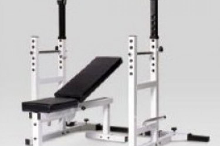 York Barbell Pro Series 204 Squat Rack