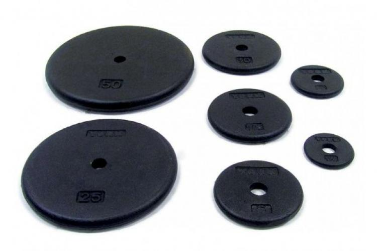 "York Barbell Pro 1"" Weight Plate"