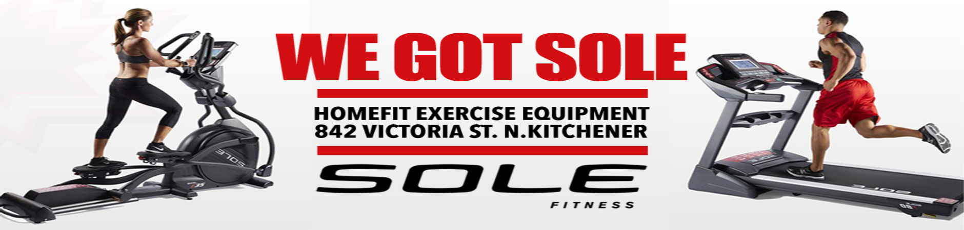 Promotion for Sole Exercise Equipment