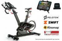 BodyCraft Fitness SPR Spin Bike Side View with specs